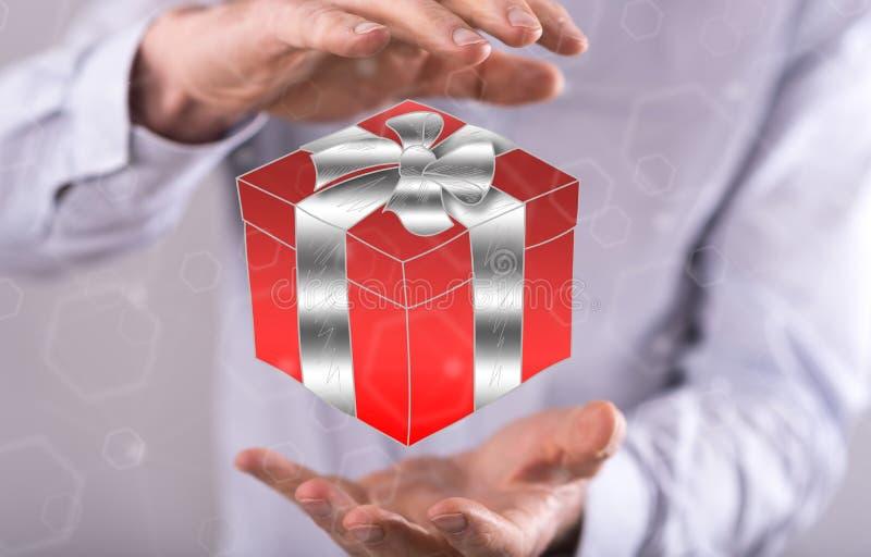 Concept de cadeau photos stock