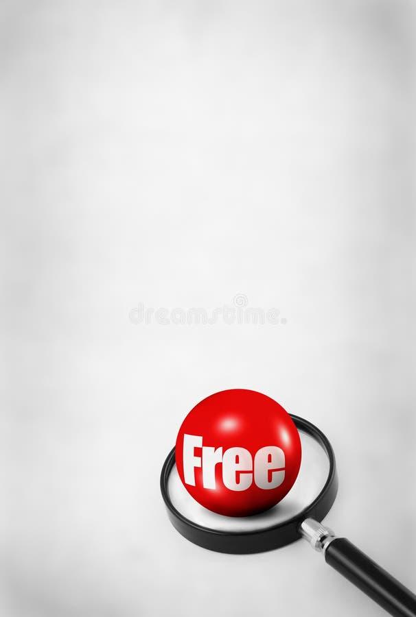 Concept de cadeau libre illustration stock