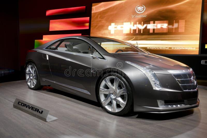 Concept de Cadillac Converj image libre de droits