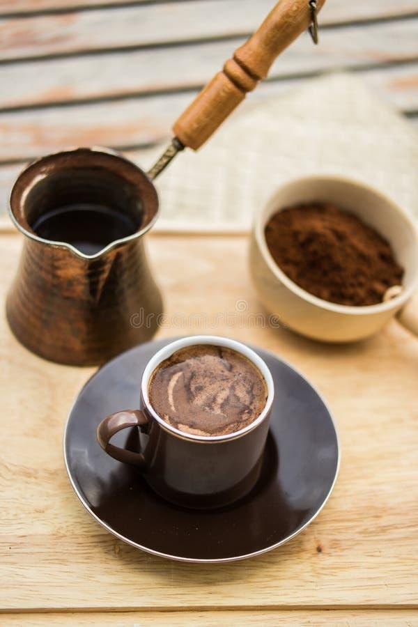 Concept de café turc photos stock