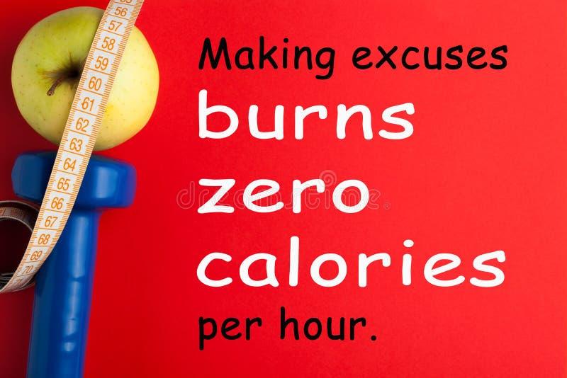 Concept de calories de brûlure image stock