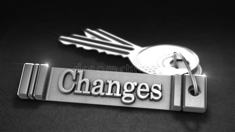 Concept de changements illustration de vecteur