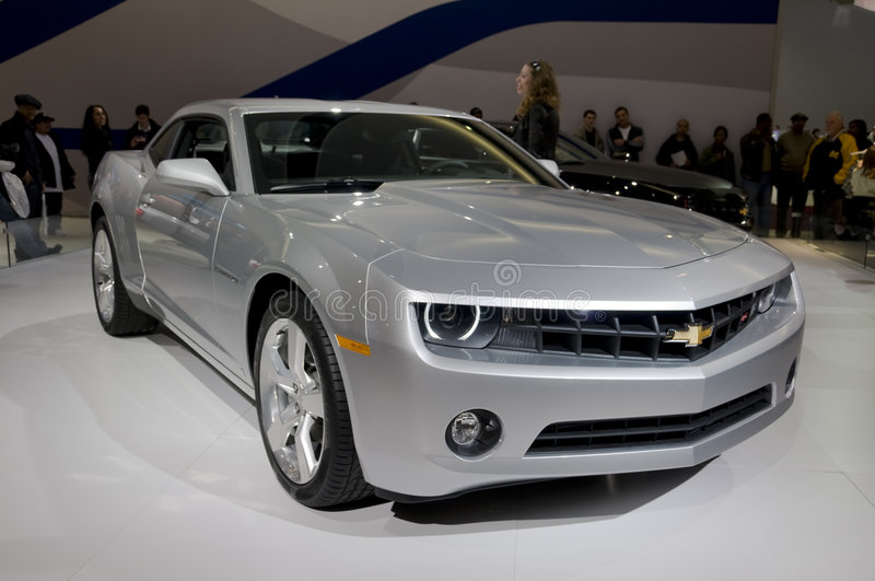 Concept de Chevrolet Camaro photo libre de droits