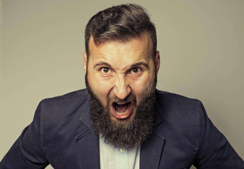 Concept de colère photographie stock libre de droits