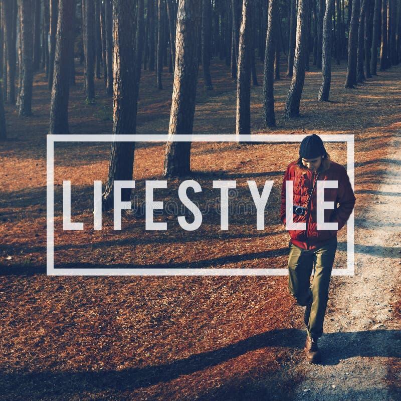 Concept de comportement d'habitudes de passion de mode de vie de mode de vie photos stock