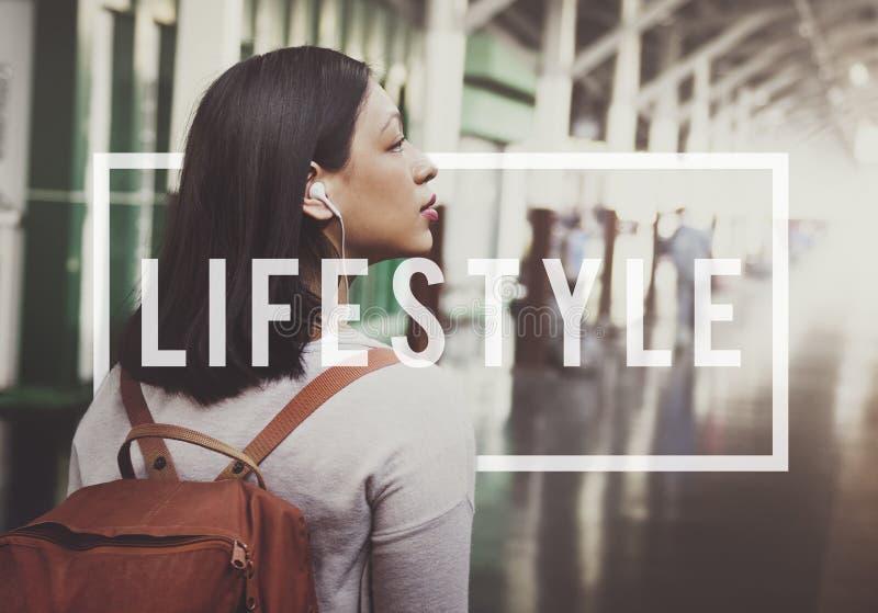 Concept de comportement d'habitudes de passion de mode de vie de mode de vie image stock