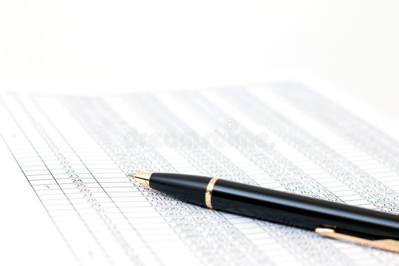 Concept de comptabilité photos stock