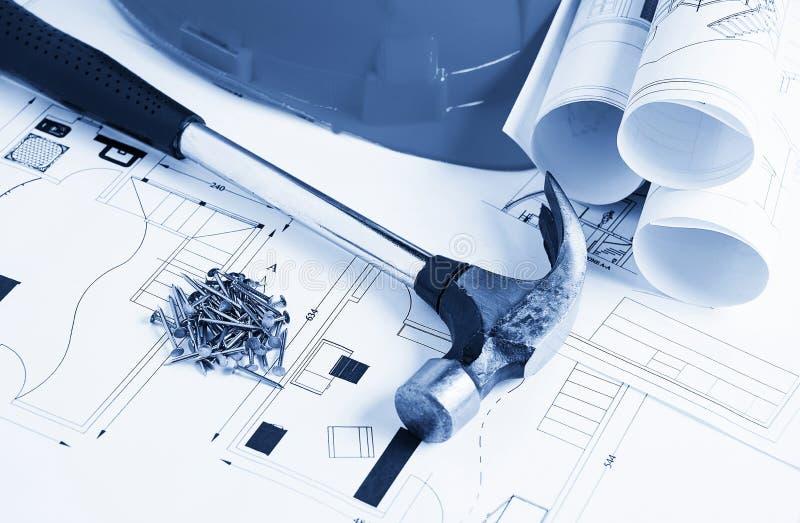 Concept de construction photographie stock libre de droits