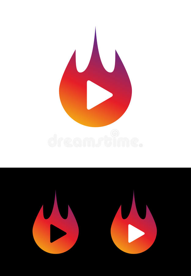 Concept de construction de logo de musique Icône créative d'affaires pour la société musicale Marque audio saine pour l'APP mobil illustration libre de droits