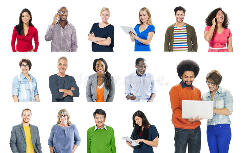 Concept de contenu de technologie de mise en réseau de communication de la Communauté images libres de droits