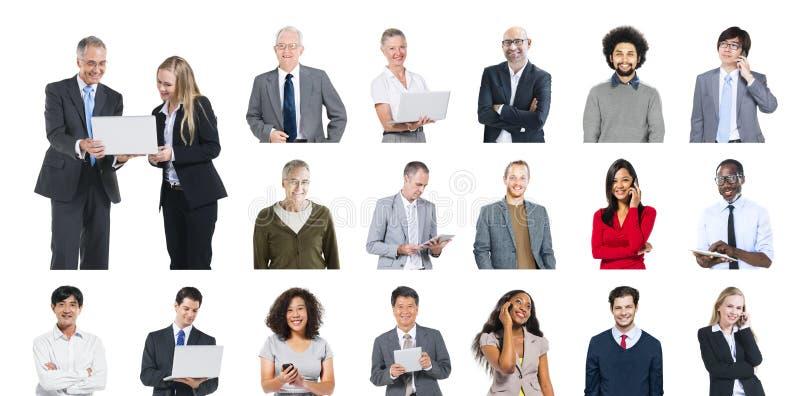 Concept de contenu de technologie de mise en réseau de communication de la Communauté image libre de droits