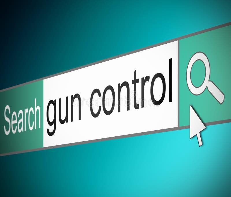 Concept De Contrôle Des Armes. Images libres de droits