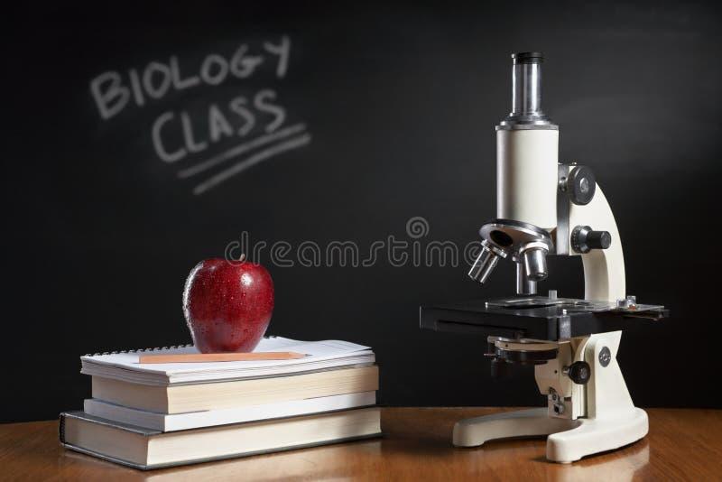 Concept de cours de Biologie images libres de droits