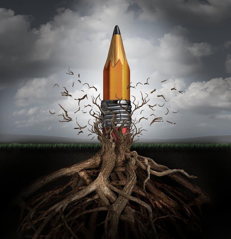 Concept de créativité illustration libre de droits