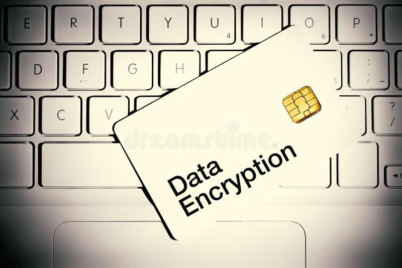 Concept de cryptage des données photos stock