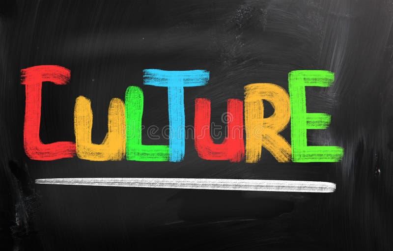 Concept de culture illustration libre de droits