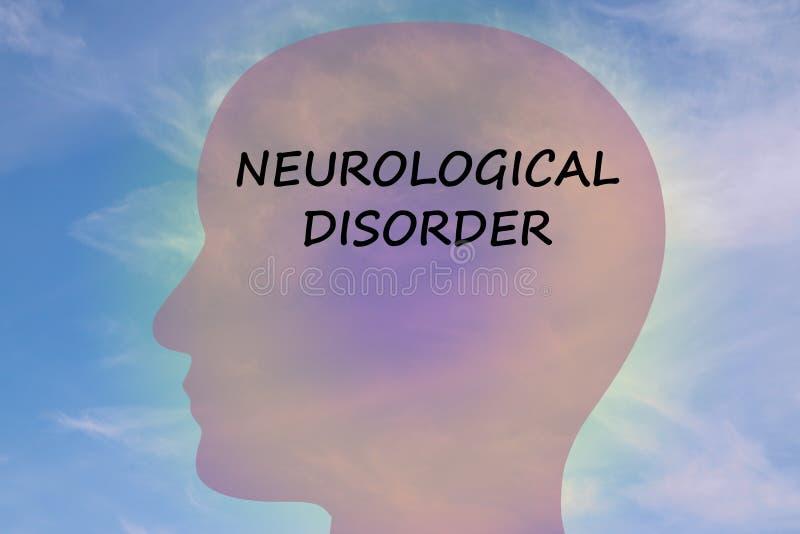 Concept de désordre neurologique illustration libre de droits