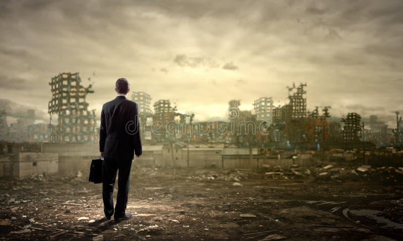 Concept de destruction image libre de droits