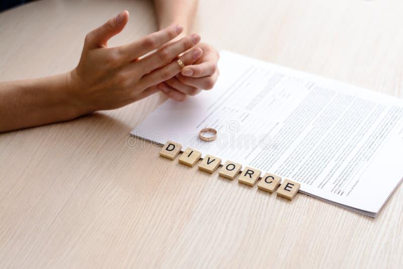 Concept de divorce photos libres de droits