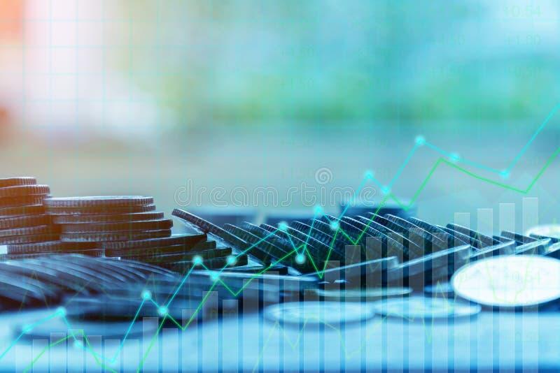 Concept de finances et d'investissement photo stock