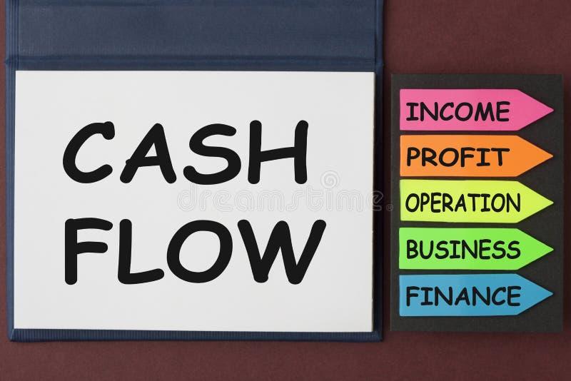 Concept de flux de liquidités photos libres de droits