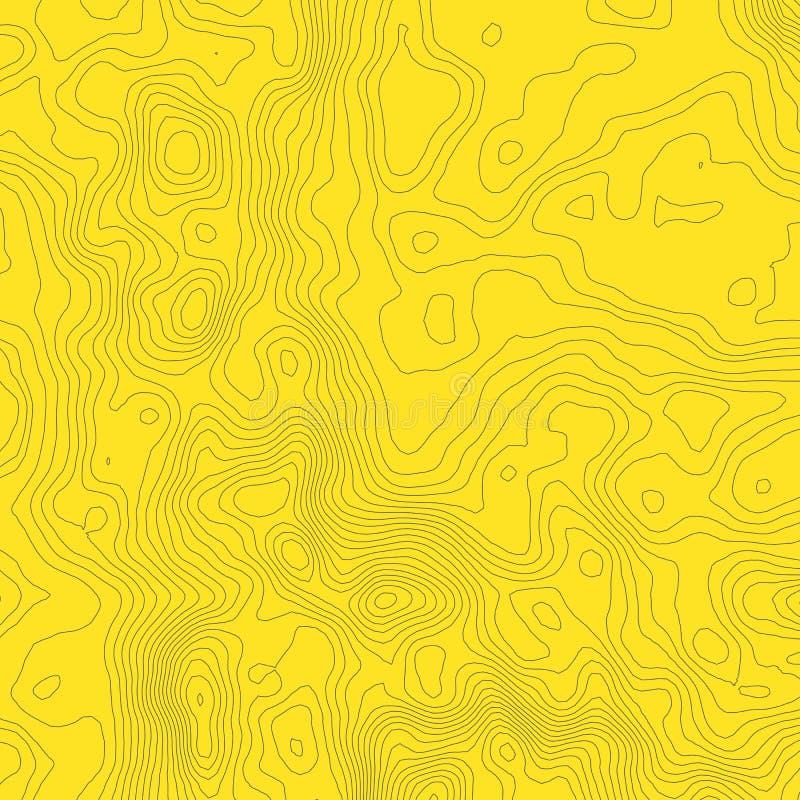 Download Concept De Fond De Carte Topographique Avec L'espace Pour Votre Copie Découpe De Schéma, Sentier De Randonnée Topographie De Mont Illustration de Vecteur - Illustration du ligne, effet: 77152239