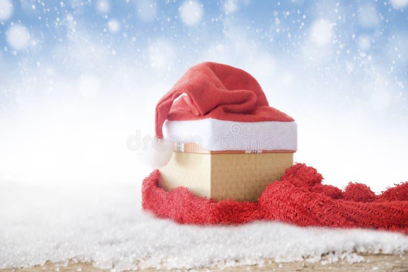 Concept de fond de copyspace d'hiver et de Noël image libre de droits