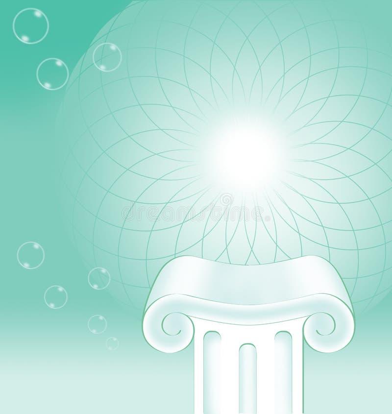 Concept de fond de pilier image stock