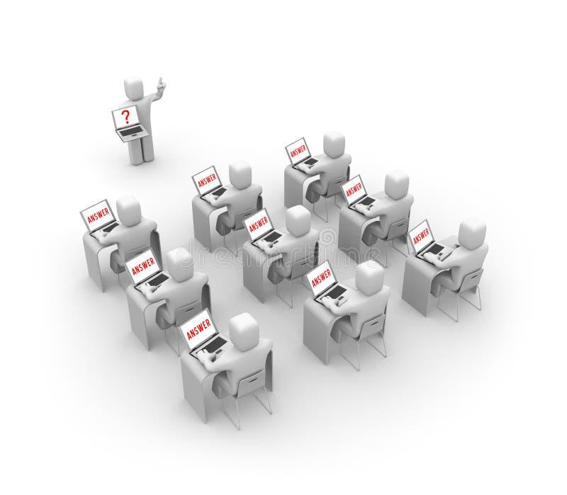Concept de formation illustration stock