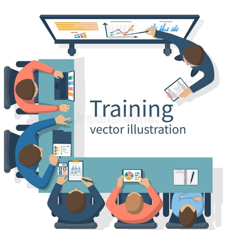 Concept de formation d'affaires illustration de vecteur