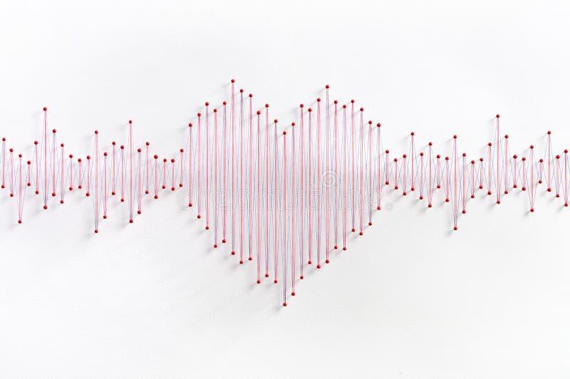Concept de fréquence d'amour photos stock