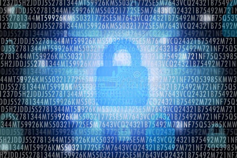 Concept de garantie de Cyber images libres de droits