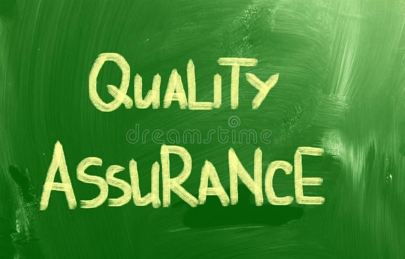 Concept de garantie de la qualité images libres de droits