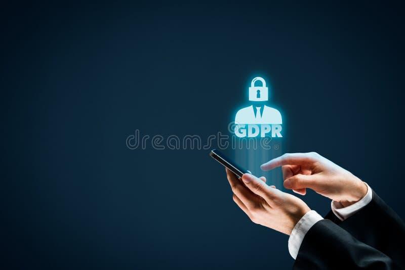 Concept de GDPR photos libres de droits