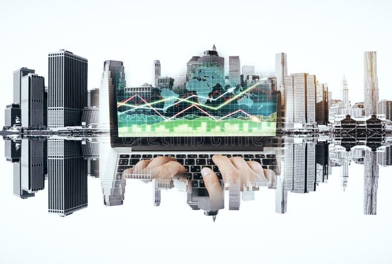 Download Concept De Gestion De Fonds Photo stock - Image du ville, graphique: 77163554