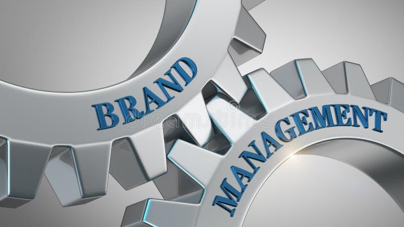 Concept de gestion de marque illustration de vecteur