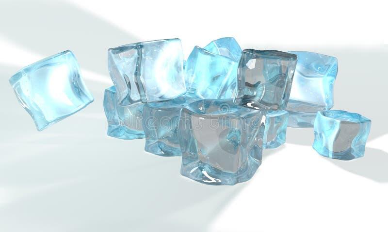 Concept de glace illustration libre de droits