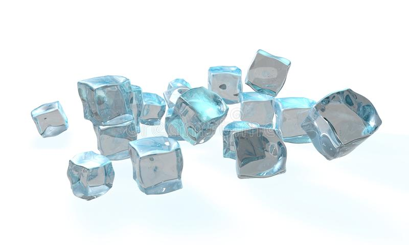 Concept de glace illustration de vecteur