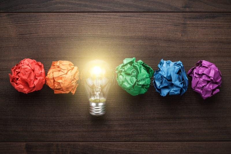 Concept de grande idée images stock