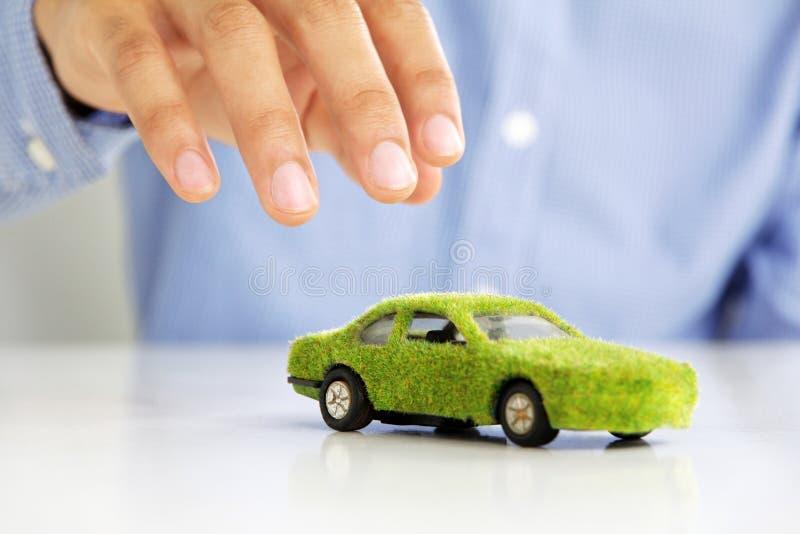 Concept de graphisme de véhicule d'Eco photo stock
