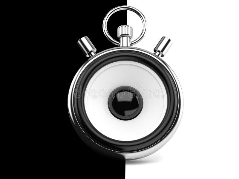 Concept de haut-parleur illustration libre de droits