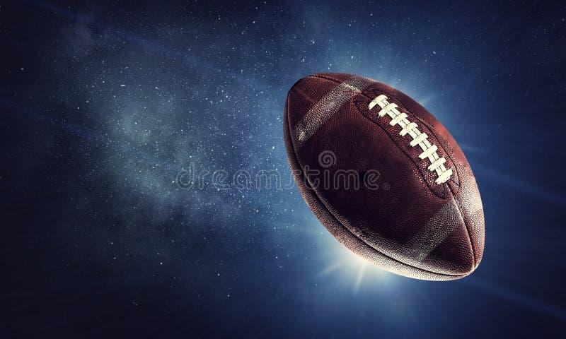 Concept de jeu de rugby image stock