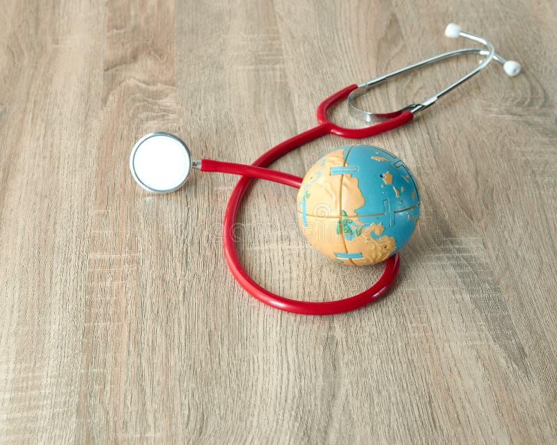 Concept de jour de santé du monde image libre de droits