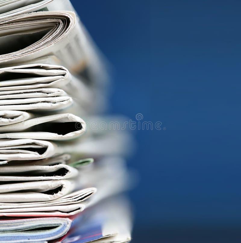 Concept de journaux image libre de droits