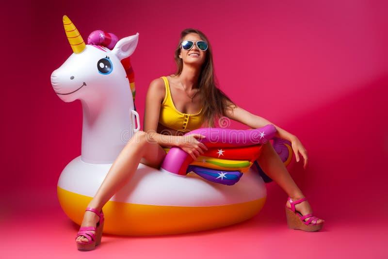Concept de joyeuse humeur d'été photo libre de droits