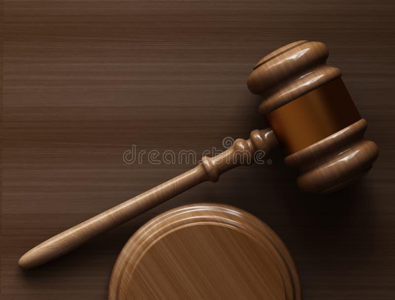 Concept de justice illustration libre de droits