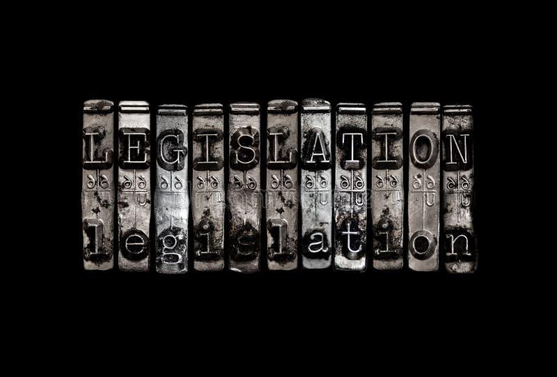 Concept de législation image stock