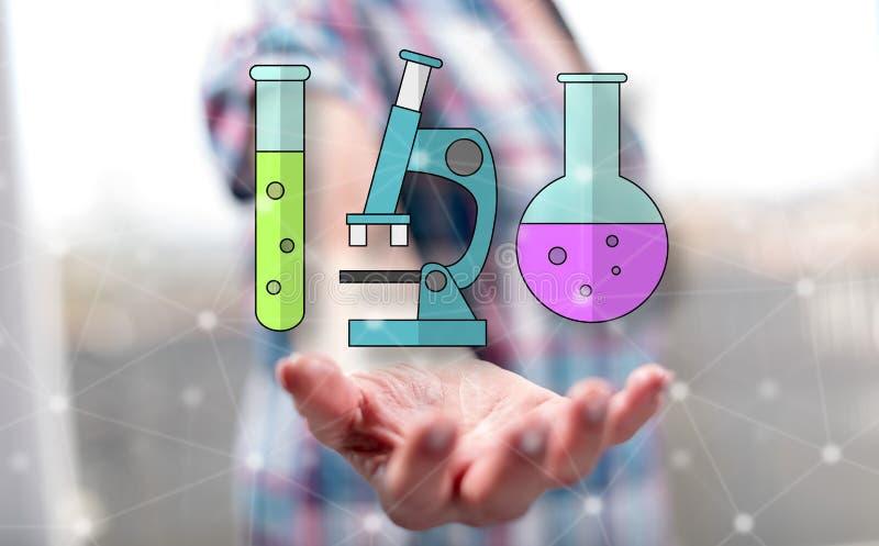 Concept de la biotechnologie photographie stock