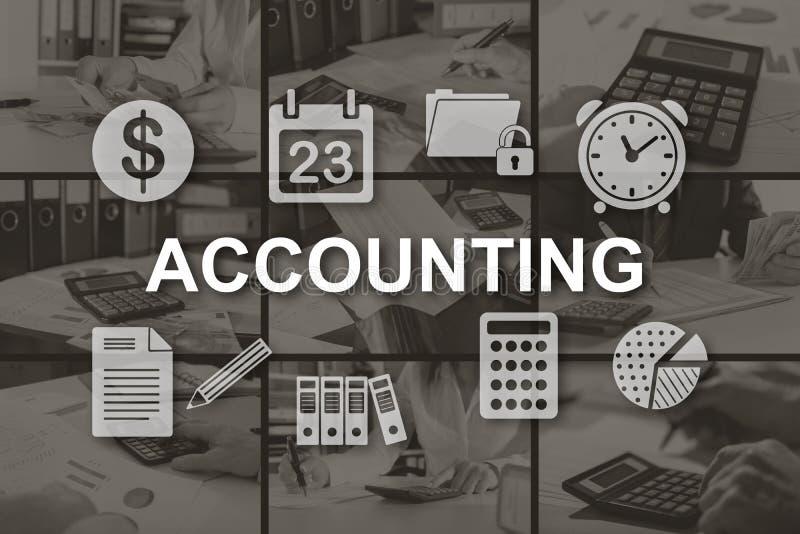 Concept de la comptabilité photos stock