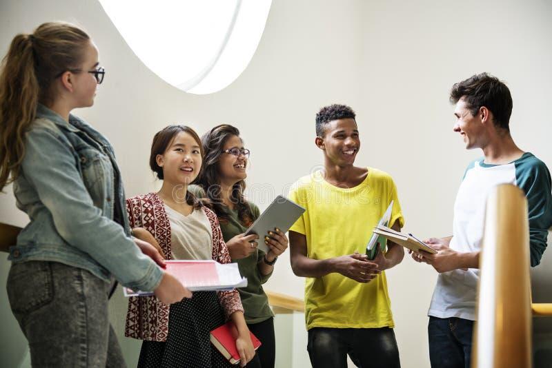 Concept de la connaissance de personnes d'étudiants d'éducation photos libres de droits